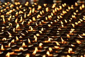 cremation Memorial candle